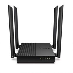 TP-LINK AC1200 Wireless MU-MIMO Wi-Fi Router Archer C64 802.11ac, 867+400 Mbit/s, Ethernet LAN (RJ-45) ports 4, MU-MiMO Yes, Antenna type 4 x Fixed
