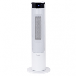 Gerlach Tower heater with Humidifier  GL 7733 Ceramic, 2200 W, Number of power levels 2, Suitable for rooms up to up to 25 m², White, Remote control