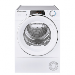 Candy Dryer Machine  ROE H9A2TCEX-S Energy efficiency class A++, Front loading, 9 kg, Heat pump, Big Digit, Depth 58.5 cm, Wi-Fi, White