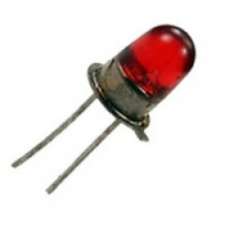 Šviesos diodas 5mm raudonas AL310A