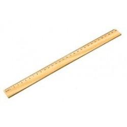 Medinė liniuotė Centum 30 cm.
