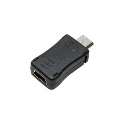 Adapteris LogiLink Mini USB - Micro USB