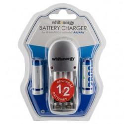 Whitenergy įkroviklis 2 baterijoms AA/AAA + 2xAA/R6 2800mAh