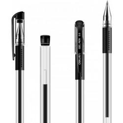 Rašiklis Deli 6600 0.5mm juoda