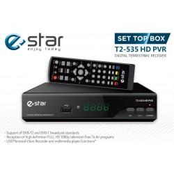 DVB-T imtuvas eStar DVBT2 535 HD Juodas