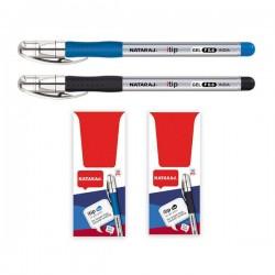 Gelinis rašiklis NATARAJ, Itip Fine 0,6 mm, mėlynos spalvos rašalas, 1 vnt.