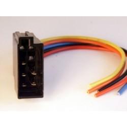 ISO kištukas 8pin su 8 laidais garsiakalbiams