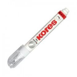 Korekcinis pieštukas KORES METAL TIP, 10 ml