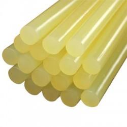 Klijų lazdelės diametras 11mm bespalvės