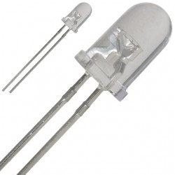 Šviesos diodas 5mm raudomas mirksintis