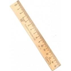 Liniuotė 17cm medinė