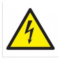 Lipdukas Elektros smūgio pavojus 10cm