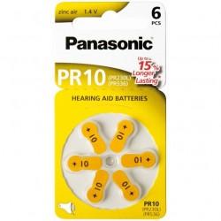 Baterija Panasonic ZINC-AIR PR10H klausos aparatams