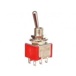 Permetamasis jungiklis (tumbleris) 1MD1T1B1M1QN 2A/250VAC ON-ON