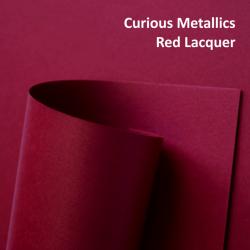 Dekoratyvinis popierius CURIOS METAL RED LACQUER  A4