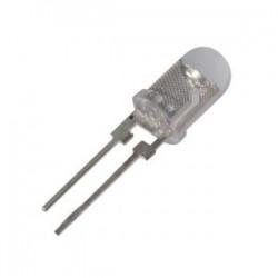 Šviesos diodas 5mm baltas