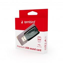 GEMBIRD SC-USB2.0-01 Gembird Premium USB garso perėjimas, Virtus Plus